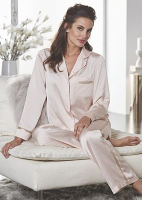 Savannah Satin Pj Set