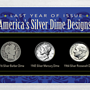 last year of issue american silver dimes