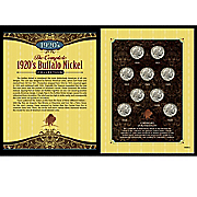 Complete 1920 Buffalo Nickel Collection