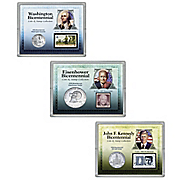 Presidential Bicentennial Coin and Stamp Collection