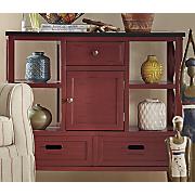 rustic console cabinet 20