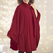 self scarf cape set