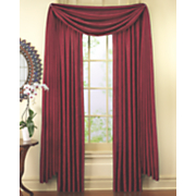 crushed faux silk curtains