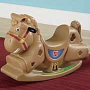 patches the rocking horse by step 2