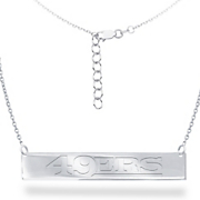 nfl bar necklace