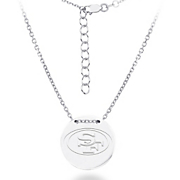 nfl tailored disc necklace