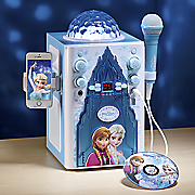 disney frozen castle flashing lights karaoke by sakar
