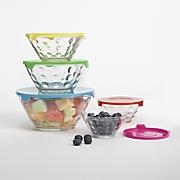 10 pc  dots storage bowl set