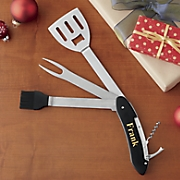 personalized 5 in 1 bbq tool