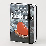 how to survive a relationship flask set