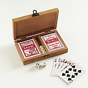 Personalized Double Deck Playing Card Set