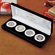 jfk 4 coin tribute set