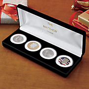 jfk 4 coin tribute set