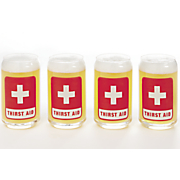 set of  thirst aid  glasses