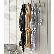 tone on tone scarf trio