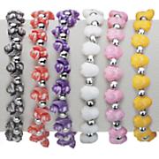 6 pc  animal friendship bracelets