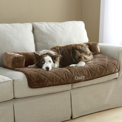 Personalized Self-Warming Furniture Protector with Bolster