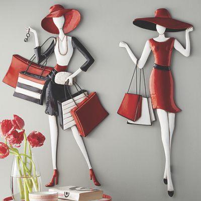 Shopping Lady Art