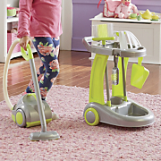 6 pc  vacuum with cleaning trolley set