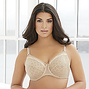 underwire lace bra by glamorise