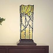 Lavish Vine Filigree Hurricane Lamp
