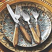16 pc  carlisle flatware set