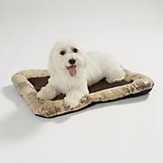 croc print print pet bed