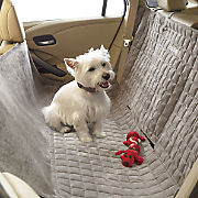 personalized quilted hammock for auto by pet pals