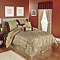 Tatiana 10-Piece Jacquard Bed Set