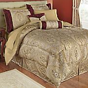 tatiana 10 pc  jacquard bed set