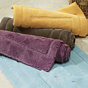 tuscany 6 pc  towel set and 2 pc  rug set