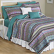 maura quilt  sham and accent pillow