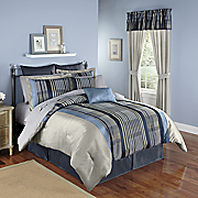 nantucket jacquard 12 pc  bed set and window treatments