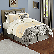 newport 12 pc  bed set and window treatments