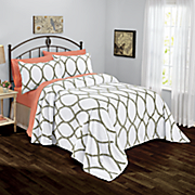 hadlee chenille bedspread and sham