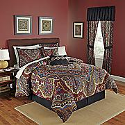 kiev 10 pc  bed set and window treatments