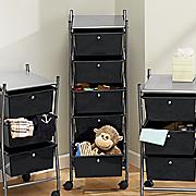 5 drawer  rolling storage cart