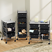 rolling storage carts