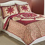 printed starlight quilt
