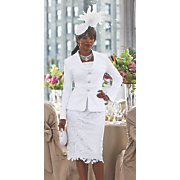 maisie fascinator by arturo rios and skirt suit