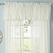 laurel embroidered voile window treatments