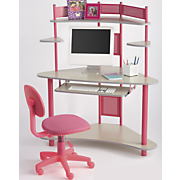 Corner Computer Desk and Child Sized Task Chair