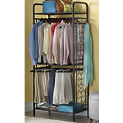 metal clothes organizer