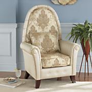 antiquity flourish high back chair