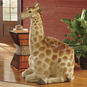 sitting giraffe chair
