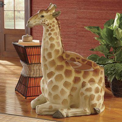Sitting Giraffe Chair