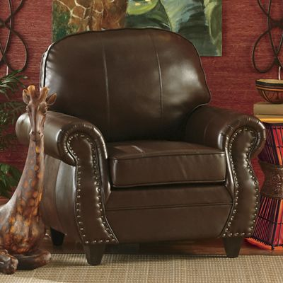 Nailhead Arm Chair