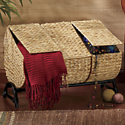 storage basket with 3 dividers