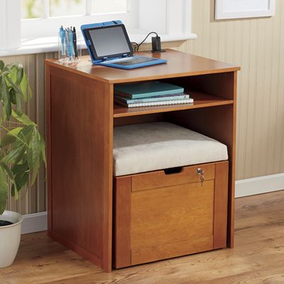 Nesting Stool File Storage Desk