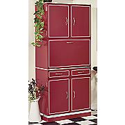 retro tall cabinet